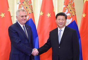 Tomislav Nikolić and Xi Jinping