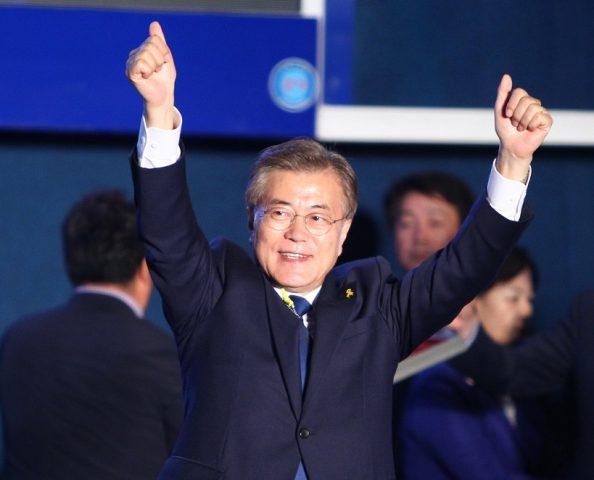 Trump invites South Korean president Moon to Washington