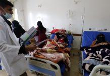 Yemen cholera epidemic in Sanaa
