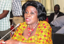 Minister for Aviation, Cecilia Abena Dapaah
