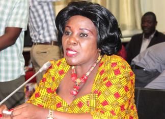 Minister for Aviation, Cecilia Abena Dapaah