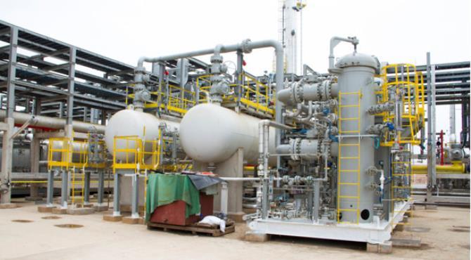 File photo: Atuabo gas plant