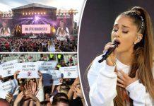 Arianna Grande, OneLove concert