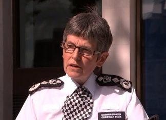 Metro police Boss. Commissioner Dick