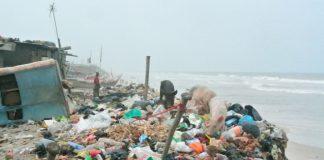 Filth at Chorkor Beach