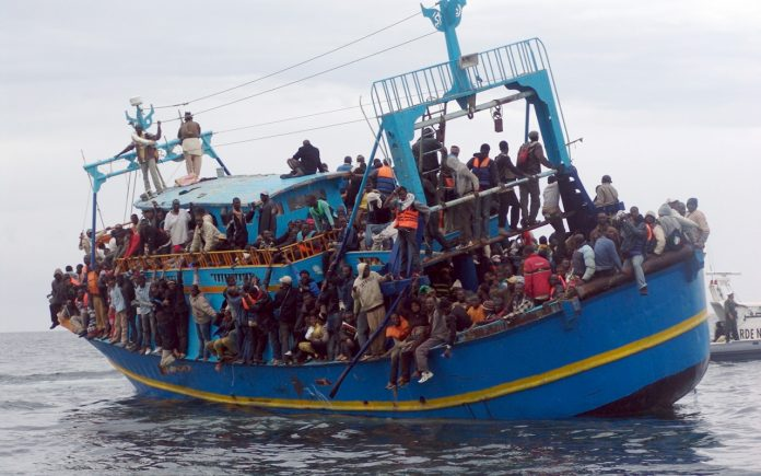 Migration by boat