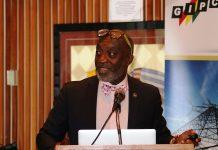 Mr. Grant speaking at the Diaspora Session, Ghana Embassy in Washington