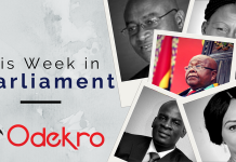 Odekro This Week in Parliament