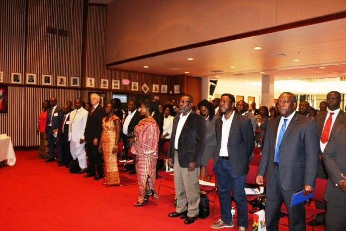 Participants at the Diaspora Seminar in the USA