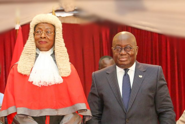 President Akufo-Addo urges Judiciary to uphold its reputation