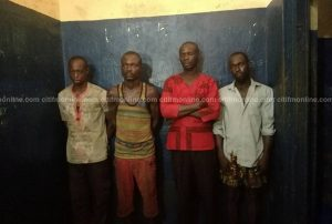 Suspects of Captain Mahama's murder