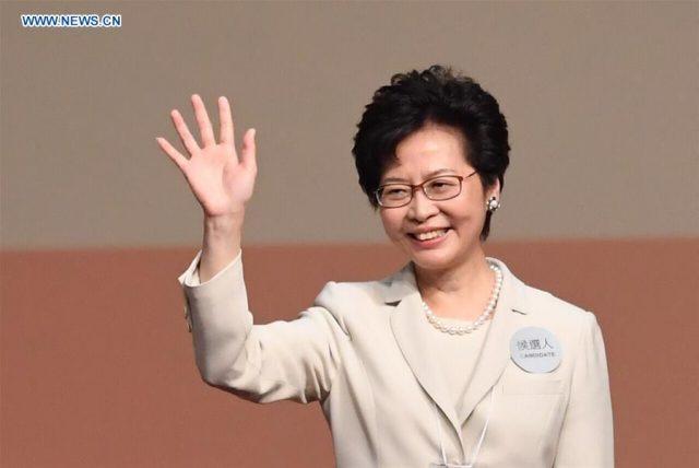 Lam Cheng Yuet-ngor wins election of Hong Kong's fifth-term chief executive: