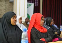 somalia election girls AU training