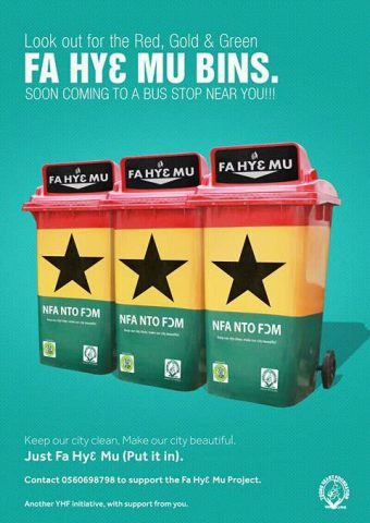 waste collection bins