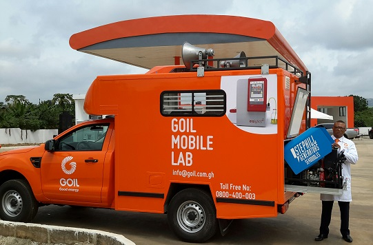 GOIL Mobile Laboratory - Quality Fuels Assured