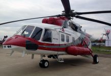 Mi-172 helicopter
