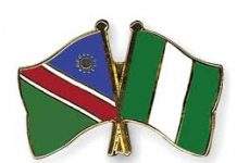 Namibia and Nigeria
