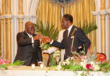 President Akufo-Addo with President Obiang