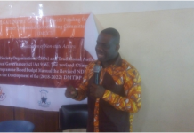 Dr Eric Oduro Osae, addressing stakeholders at workshop