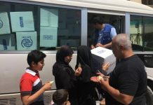 IOM distributes hygiene kits in Damas, Syria last May 2017. File photo: UN Migration Agency (IOM) 2017