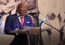 Rt. Honourable Speaker of Parliament, Professor Aaron Michael Oquaye