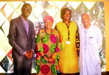 Acting CEO and the Jury of Heroes of Ghana
