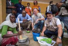 UN food agency chiefs on visit to drought-hit Ethiopia