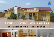 5 top guesthouses in Ghana