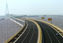 Photo shows the Hangzhou Bay Bridge. (Photo from Zhejiang Online)