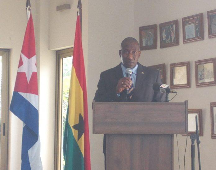 Cuban Ambassador to Ghana, Pedro Luis Despaigne Gonzalez