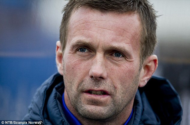 Former Celtic manager Ronny Deila admits he stripped off