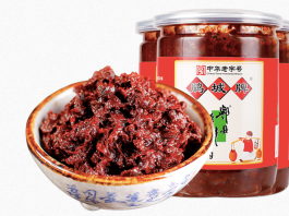 The bean paste produced in Pixian County, southwest China's Sichuan Province. (Photo from official website of the producer)
