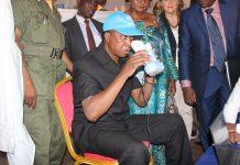 President of Zambia Edgar Chagwa Lungu
