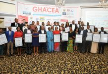 A group picture of 7th GHACEA winners
