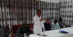 The Chief Director, Northern Regional Coordinating Council (NRCC) Mr. Alhassan Isshaku