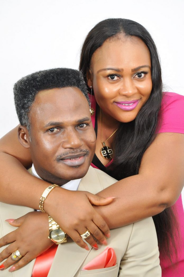 Apostle Francis Amoako Attah and his wife