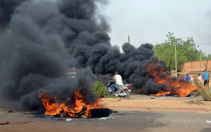 Niger unrest on Oct. 30, 2017 sparked by austerity budget