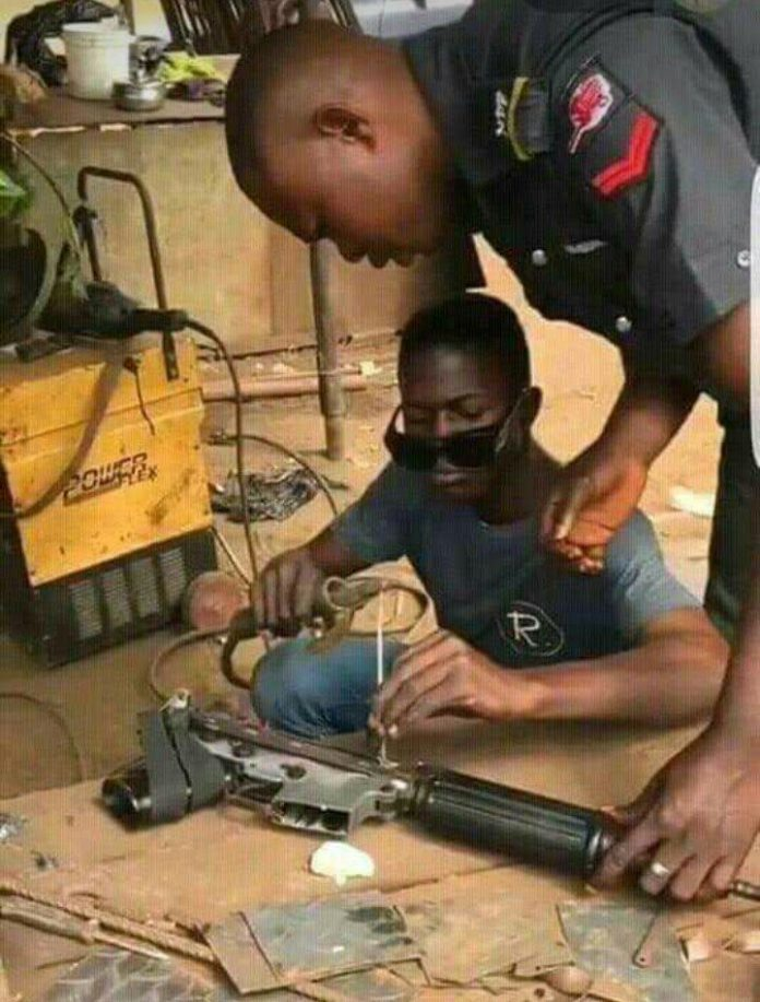 Nigeria Police Rifle