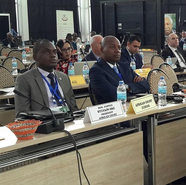 African Court Judges