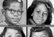 Birmingham 16th Street Baptist Church bombing victims in September 1963