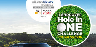 Range Rover partners Achimota Golf Club