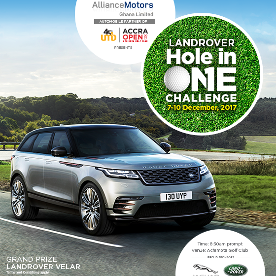 Range Rover partners Achimota Golf Club
