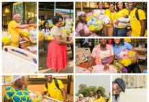 MTN Ghana Dashes Hampers