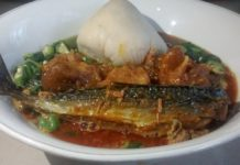 Banku and Okro Soup