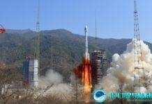 A BeiDou navigation satellite was launching. (Photo: beidou.gov.cn)
