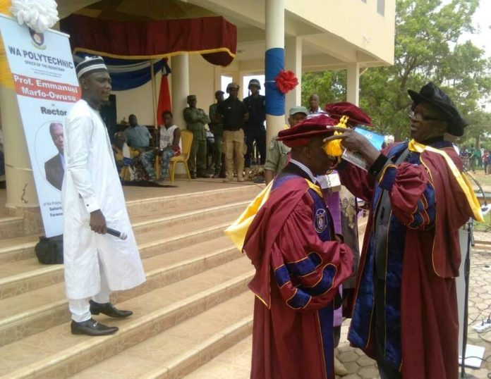Professor Owusu-Marfo inducted new Rector for Wa Polytechnic