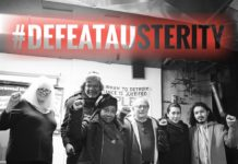 National Conference to Defeat Austerity organizers