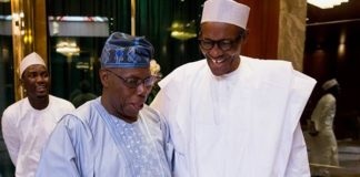 Obasanjo visits Buhari