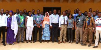 Stakeholders review Tropical Legumes Project