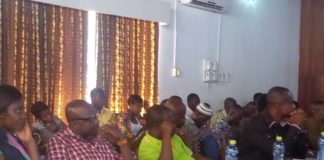 Some of the participants at the Workshop in Sunyani